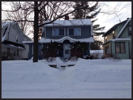 My house on January 26, 2014